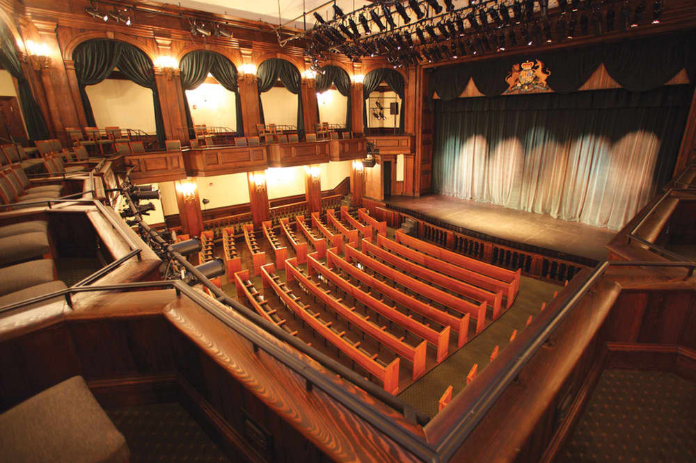 Charleston Stage is South Carolina's largest professional theatre company in residence at the Historic Dock Street Theatre.